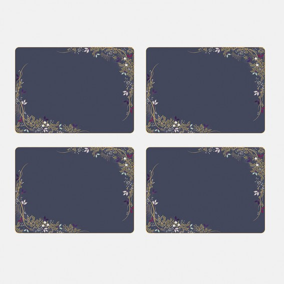 Winter Foliage Placemats - Set of 4