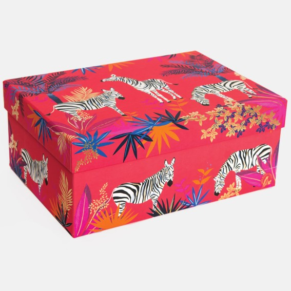 Zebra Large Gift Box