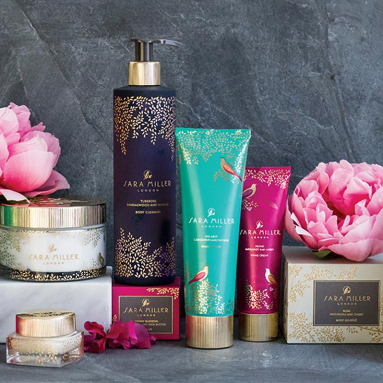 Shop our new luxurious bath and body collection…