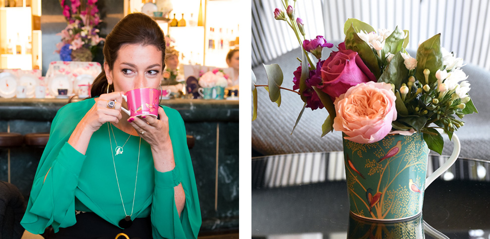 Sara Miller London Portmeirion Collection launch at the Mondrian Hotel