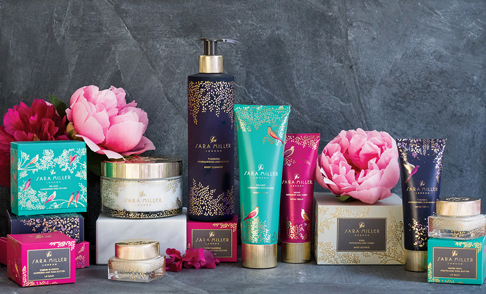 the new sara miller beauty collection